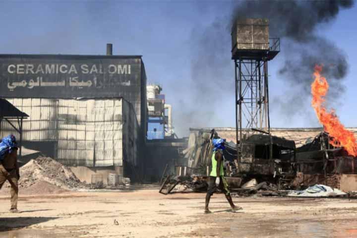 23 killed in ceramics factory fire in Sudan, rtvonline