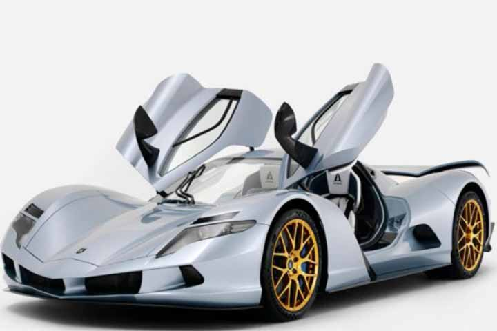 250mph electric hypercar has 'fastest acceleration in the world'