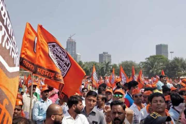 rally in Mumbai demanded the expulsion of Bangladeshis