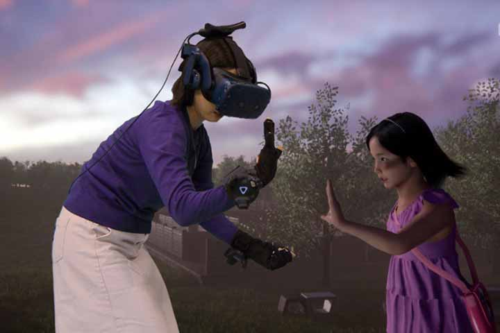 Mother 'reunited' with dead daughter on South Korean VR show