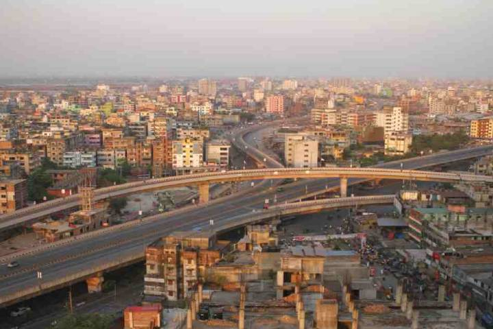 significant improvement in Dhaka's air quality