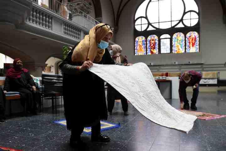 German church hosts Muslim prayer