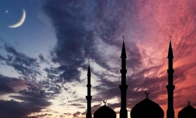 The moon was not seen, the holy Eid al-Fitr on Monday