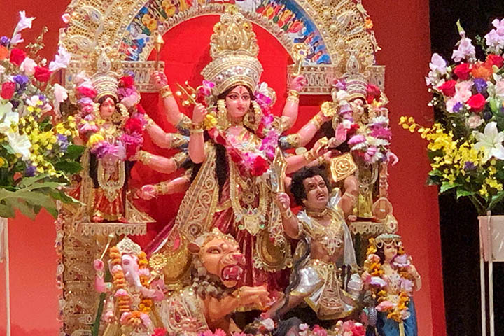 Durga Puja in the evolution of time: myth and history
