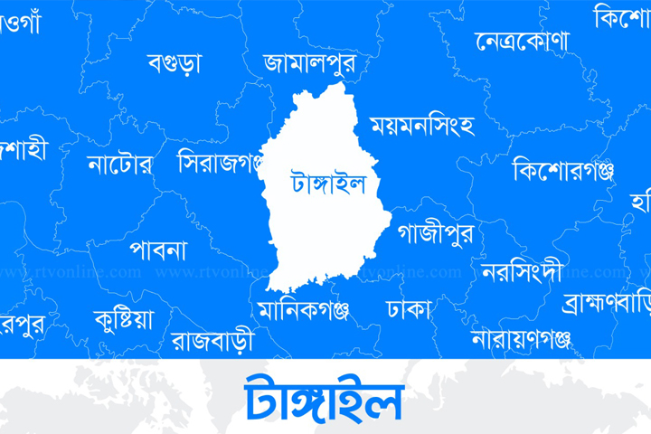 Map of Tangail