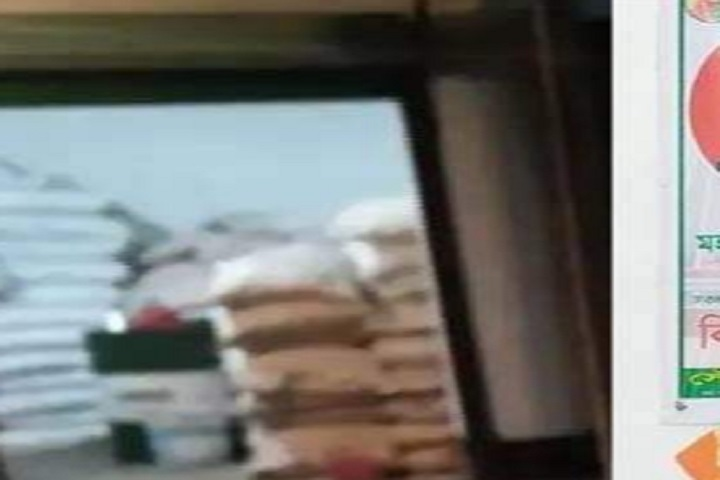 98 sacks of government, rice in the warehouse, rtv news