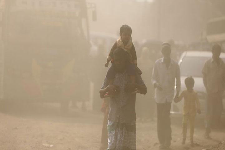 Air quality, unhealthy, 6 days