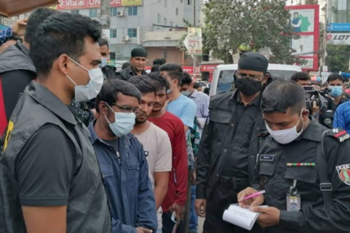 Mobile court in the capital to ensure wearing masks