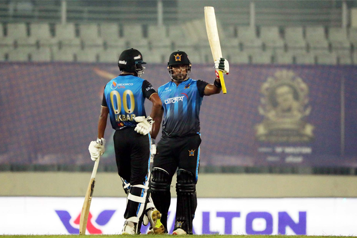 Dhaka beat Rajshahi for the second time in a row