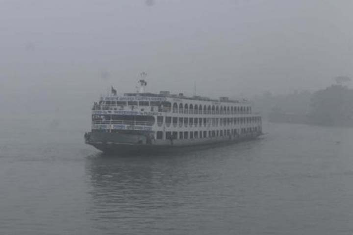 The intensity of the cold wave has decreased, dense fog in the river basin
