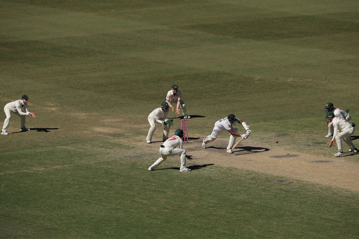 India drew the match after suffering Australia