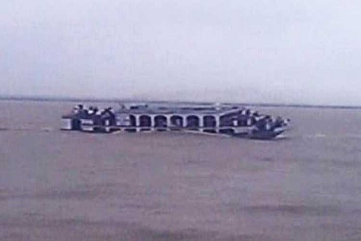 Launch sinking with more than 50 passengers in Shitalakshya river