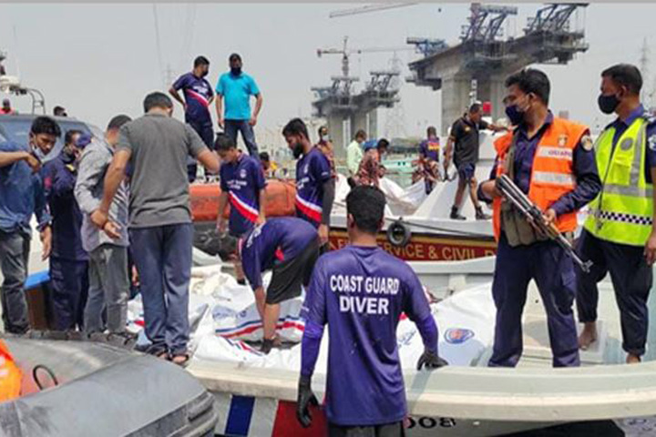 Launch sinking in winter: Bodies of 5 more people including children recovered