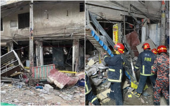 The damaged building in Maghbazar is unusable: Fire Service