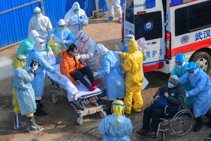 Russia has the lowest number of infections in the world