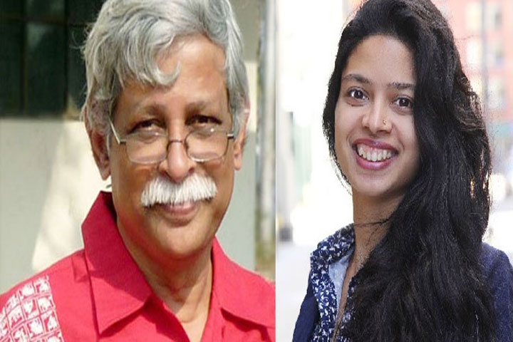 We are not going anywhere, says Dr. Zafar Iqbal's daughter