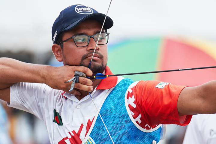 Asia Cup Archery: Shana wins gold in recurve men's singles