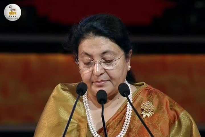 Nepalese President eulogizes Sheikh Hasina as much inspiring leader
