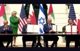 Trump presides as Israel, two Arab states sign historic pacts