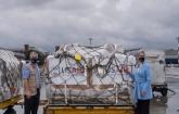 Covid-19: 100 US-made ventilators arrive in Dhaka