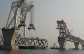 37th span of Padma Bridge installed