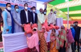 Distribution of CCCC's winter clothes in Comilla