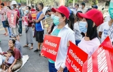 Myanmar coup: Deadliest day of protests as police open fire