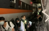 At least 48 dead as Taiwan train derails in tunnel