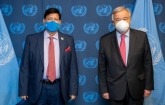 Momen urges Guterres for ensuring universal access to vaccine