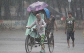 Depression over Bay, more rain expected