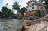 গুদাম, নদী, উচ্ছেদ