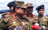 রোহিঙ্গা কাঁটাতারের বেড়া সেনাবাহিনী