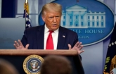 If Biden becomes president US will fall says Trump