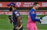 Kolkata is batting against Rajasthan