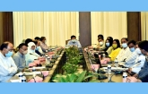 Barrister Sheikh Fazle Nur Taposh, Mayor of Dhaka South City Corporation and others were present at the meeting.