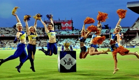 There is no opening ceremony in IPL, no cheerleade