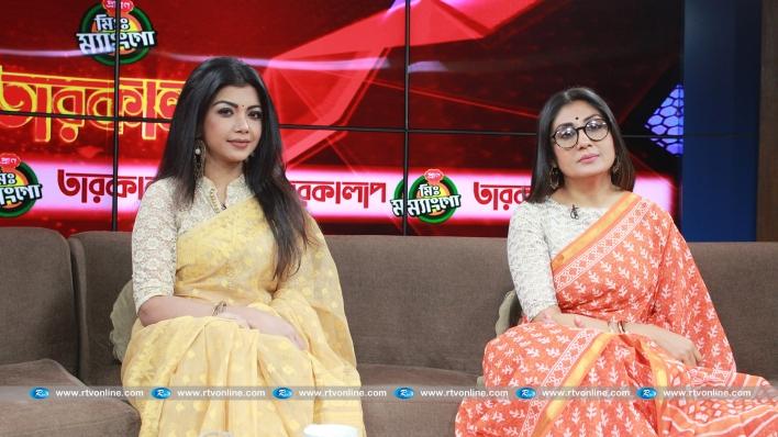 অভিনেতা নির্মাতা শামীম জামান এবং অভিনেতা মিশু সাব্বির